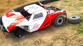 BEAUTiFUL LOSi 5T - Wheel comes off During EPiC RACE! | RC ADVENTURES