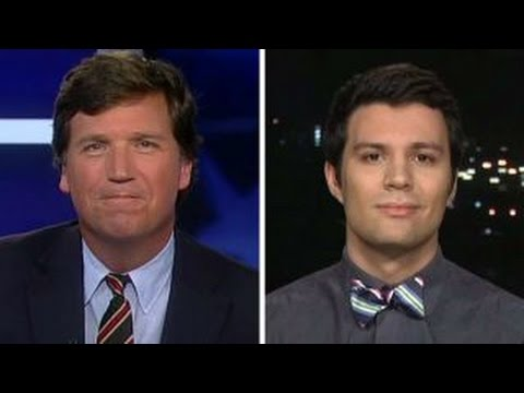Tucker v student who says Trump shouldn t be given chance