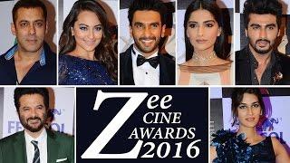 Zee Cine Awards 2016 Full Show Event || Uncut Video Red Carpet