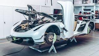 How To Build A 300mph Koenigsegg Jesko | Top Gear