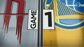 2019 NBA Western Conference Playoffs Semi-Finals | Warriors vs Rockets Game 1 ESPN Intro