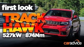 Monster SUV driven! Jeep Grand Cherokee Trackhawk first look review