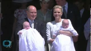 Monaco's Royal Twins Christening (Baptism)