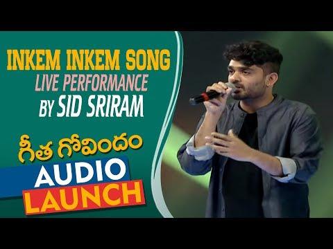 Xxx Mp4 Inkem Inkem Song Live Performance By Sid Sriram At Geetha Govindam Audio Launch Vijay Deverakonda 3gp Sex