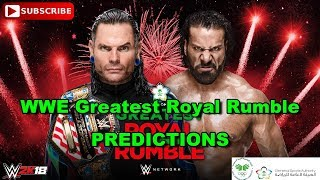 WWE Greatest Royal Rumble United States Championship Jeff Hardy vs Jinder Mahal Predictions WWE 2K18