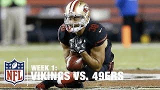 Jarryd Hayne Muffs First Career Punt Return | Vikings vs. 49ers | NFL