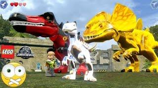 LEGO Jurassic World  Como Personalizar dinossauros (Mudar DNA) - Dublado PT-BR