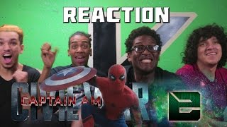 Kaylex Reacts to Captain America: Civil War Trailer #2- Extraordinary Commentary