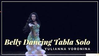 Amazing  Belly Dancing Tabla Solo HD Video - Yulianna Voronina - Belly Dance  💃
