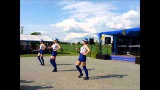 Mażoretki z Kotulina na Festynie Rodzinnym w Kotulinie 02.06.2013r.