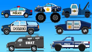 Street Vehicles | Police Cars | Toy Cars For Kids