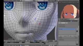 Rigging Faces in Blender (Shapekeys and Drivers) [Tutorial]