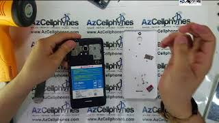 Alcatel Pixi 4 Battery And Back Assembly