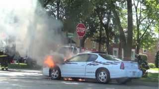 Fuel-Fed Car Fire: Chevrolet Monte Carlo Driver Smells Gas, Hears Poof While Driving