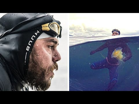 HE SPENT 157 DAYS SWIMMING IN THE OPEN SEA LOOK WHAT HAS BECOME OF HIM