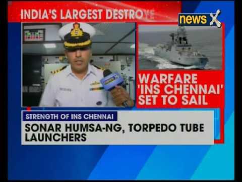 INS Chennai first to have underwater 'Kavach' decoy system