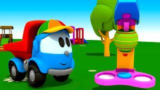 Pequeño Leo - Máquina de helados - Carros - Carritos para niños - Camiones infantiles