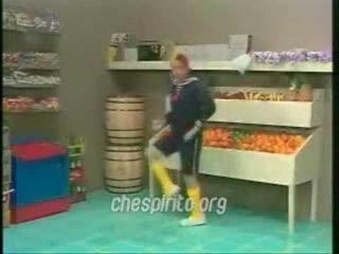 Kiko bailando la gasolina