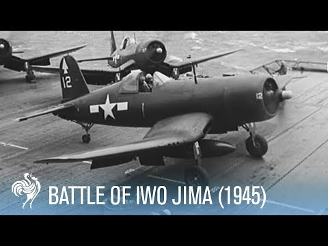 Battle of Iwo Jima Fierce Fighting Footage Full Resolution