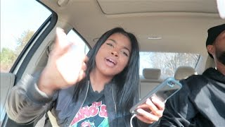 WHEN YOU GIVE YOUR GIRL THE AUX CORD!! | Vlogmas 2016