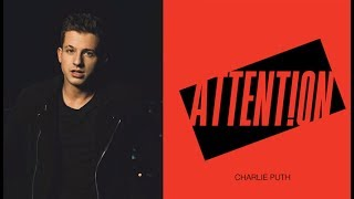 charlie puth-attentionacoustic lyrics
