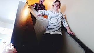 13 Year Old Say Pregnant Mom Is A Clean Freak!