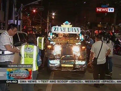 BP: Mga jeep na kolorum at 'di gumagamit ng headlight, sinita ng I-ACT