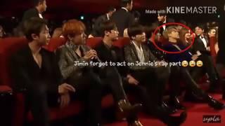 [Blackpink Jennie&Bts Jimin]Jenmin Moment #2