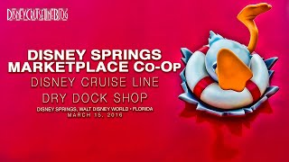 Disney Cruise Line Dry Dock Merchandise Shop At Disney Springs Marketplace Co-Op