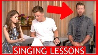 SINGING LESSONS w/ Justin Timberlake & Anna Kendrick