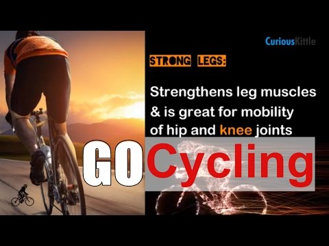 #Cycling For Better #Health | Top 20 Benefits of Cycling | Go Biking Live Long and Healthy