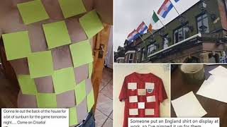 BREAKING! Scottish fans ramp up rivalry with England ahead of Croatia match