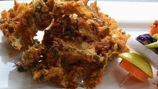 Cabbage Pakoda  - By Vahchef @ vahrehvah.com