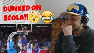 OMFG HE DUNKED ON LUIS SCOLA ! GABE NORWOOD GILAS PILIPINAS HIGHLIGHT REACTION