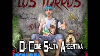 LOS TURROS - DIME QUE ARE ( Remix - Dj Cone )