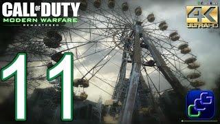 CALL OF DUTY 4 Modern Warfare Remastered PC 4K Walkthrough - Part 11 - Act 2: One Shot One Kill