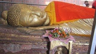 KUSHINAGAR (where Gautama Buddha have attained Parinirvana after his death) INDIA