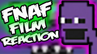 FNAF PURPLE GUY REVEALED REACTION || Iron Horse Cinema Five Nights at Freddy's Movie Purple Man