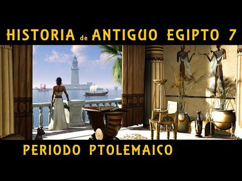 ANTIGUO EGIPTO 7 El Egipto de los Ptolomeos y las Cleopatras