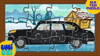 Umi Uzi | Taxi | Puzzle Game | Videos For Kids