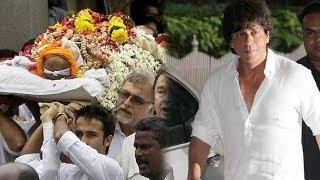 Emotional Shahrukh Khan Pays Respect to Late Shashi Kapoor