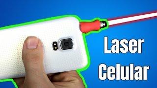 Como Fazer um Laser para seu Celular - Idéias incríveis