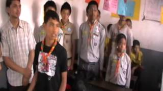 FRENCH SCOUTS N NEPAL SCOUTS