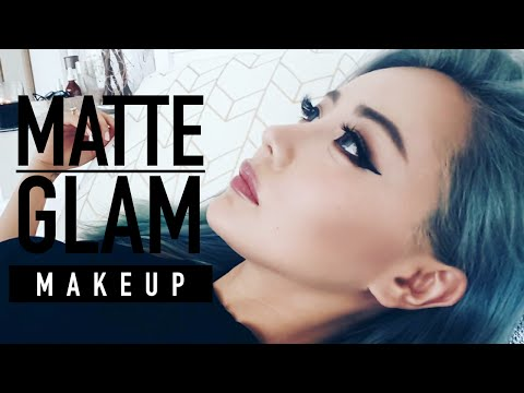 Matte Glam Makeup Tutorial ♥ For Hooded Eyes ♥ Chocolate Bar Palette Tutorial ♥ Wengie