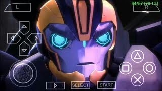 [400MB]How to download Transformers Prime Game PPSSPP ISO Game for android