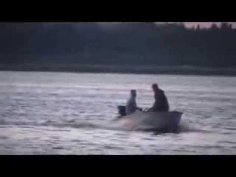 Лодка Казанка и  лодочный подвесной болотоход BAWAD