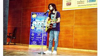 Jeene bhi de | Dil sambhal ja zara | LIVE in Amity college | yasser desai | Amispark