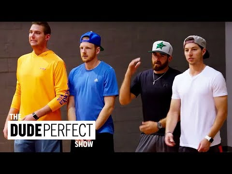 Cory Cotton Takes On A Ping Pong Champion The Dude Perfect Show