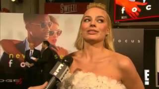 Will Smith Talks Awkward Sex Scenes at Focus Premiere with Margot Robbie