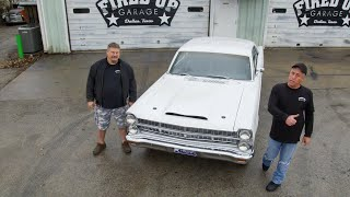 Get The Lowdown On This Fancy Fired Up Fairlane | Misfit Garage